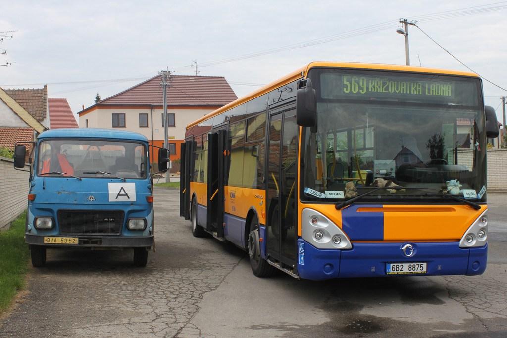 Fotogalerie » Irisbus Citelis 12M 6B2 8875 | Břeclav | Charvatská Nová Ves | Obránců Míru | Obránců Míru