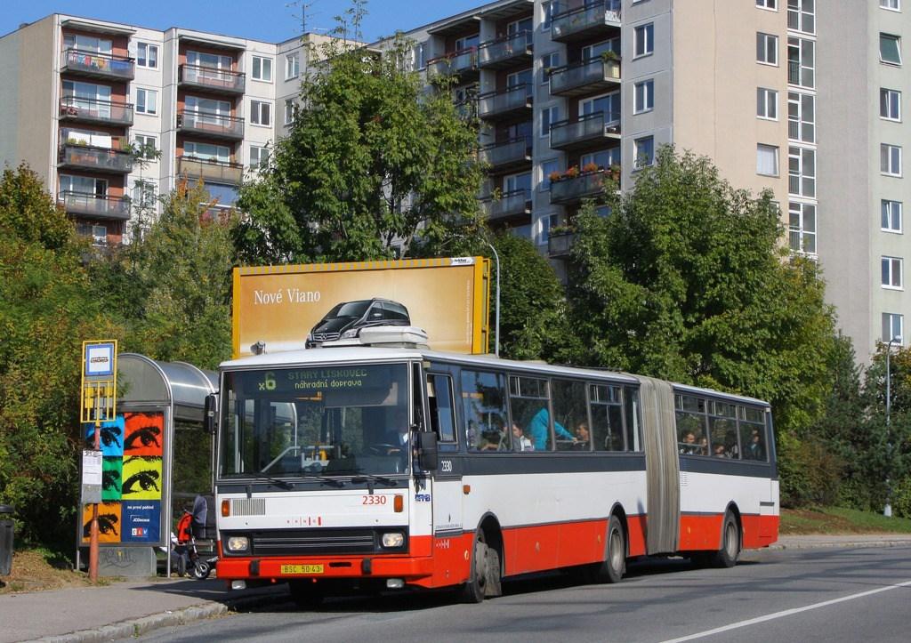 Fotogalerie » Karosa B741.1924 2330 | Brno | Bohunice | Hraničky | Humenná