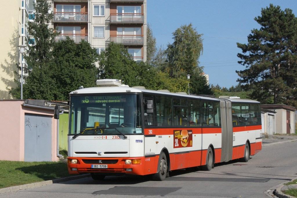 Fotogalerie » Karosa B961E.1970 2382 | Brno | Starý Lískovec | U Hřiště