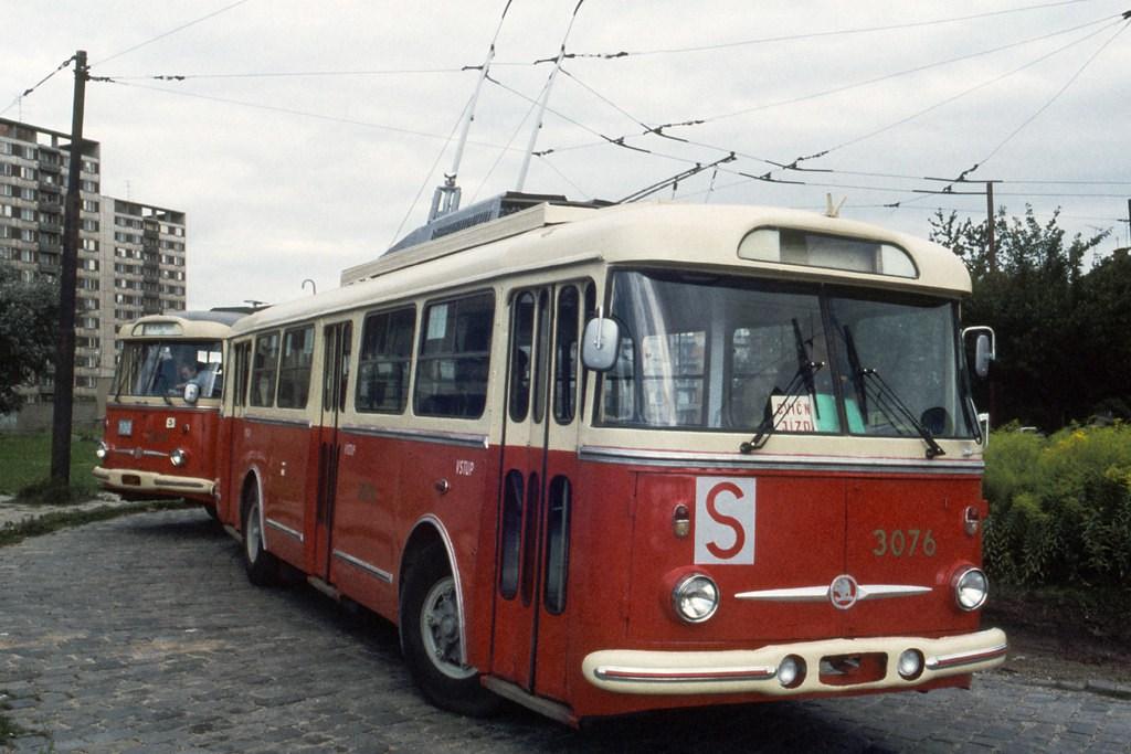 Fotogalerie » 9Tr17 3076 | Brno | Královo Pole | Srbská, smyčka