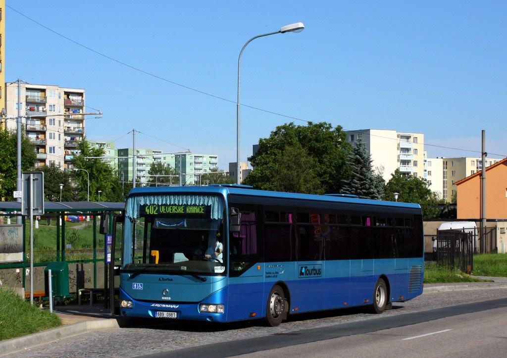 Fotogalerie » Irisbus Crossway LE 12M 6B9 0981   Brno   Starý Lískovec   Jemelkova   Dunajská