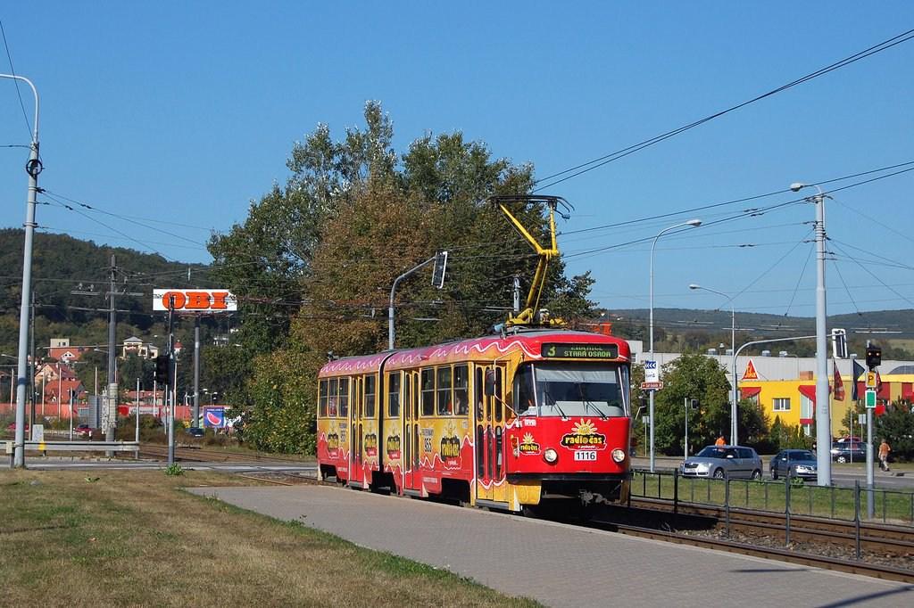 Fotogalerie » ČKD Tatra K2P 1116 | Brno | Komín | Kníničská | Kamenolom