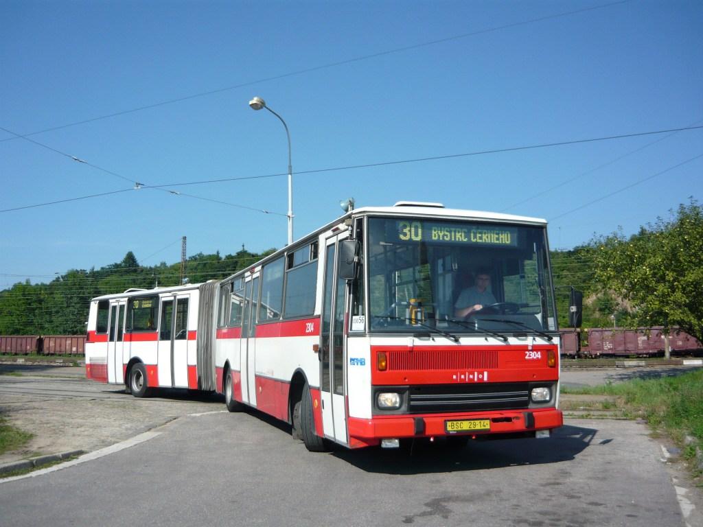 Fotogalerie » Karosa B741.1916 2304 | Brno | Královo Pole | Budovcova | Královo Pole, nádraží
