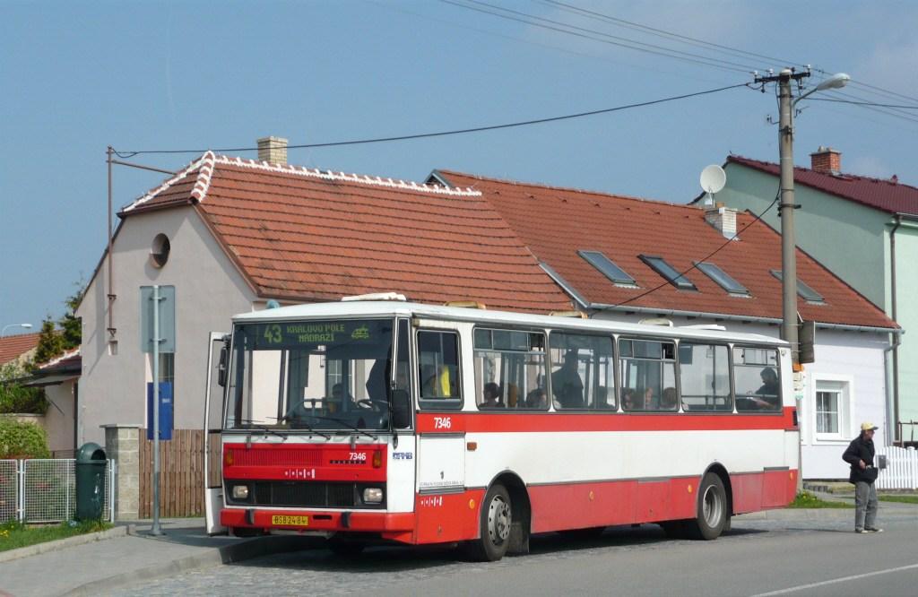 Fotogalerie » Karosa B732.1654 7346 | Brno | Soběšice | Weissova | Soběšice, Klarisky
