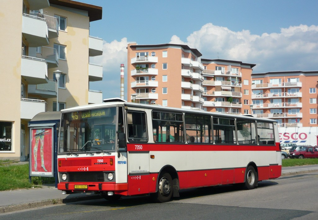 Fotogalerie » Karosa B732.1654 7350 | Brno | Juliánov | Bělohorská | Špačkova