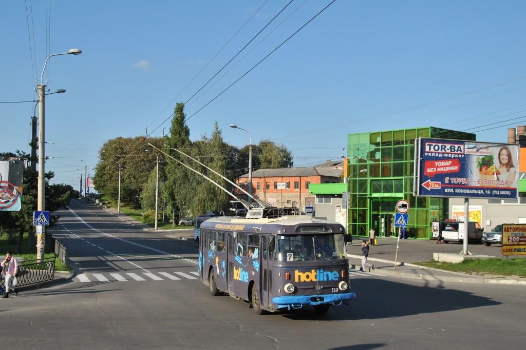 Fotogalerie » Škoda 9TrHT26 130   Rovno   Bohoiavlenska