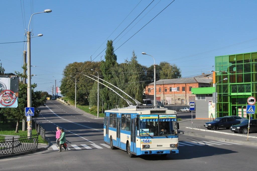 Fotogalerie » Škoda 14Tr05 144 | Rovno | Bohoiavlenska