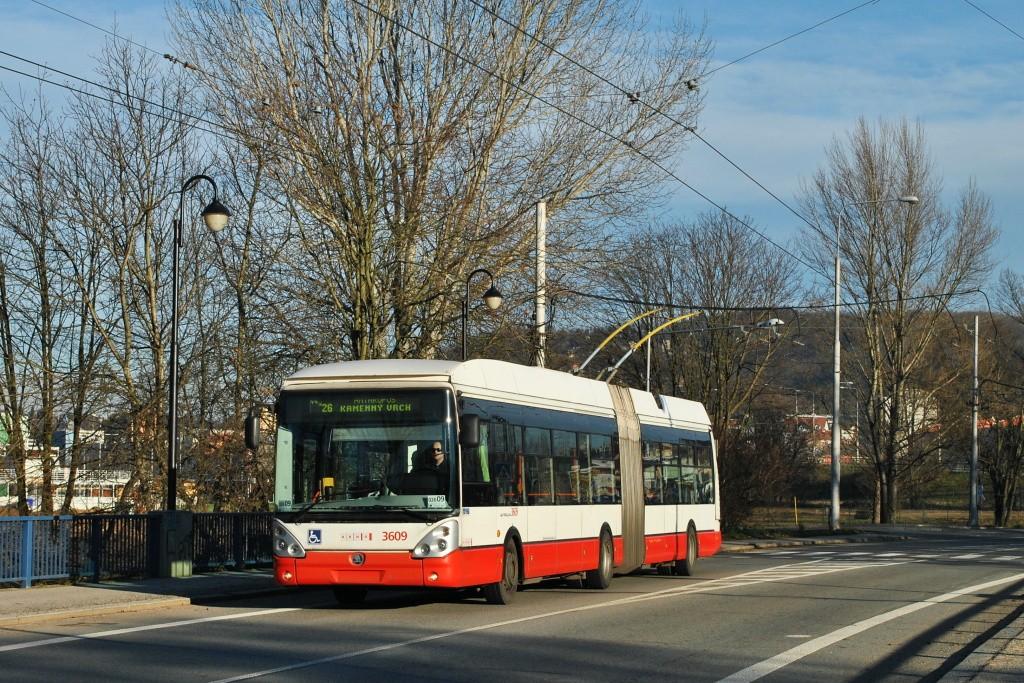 Fotogalerie » Škoda 25Tr Citelis 1B 3609 | Brno | Jundrov | Veslařská