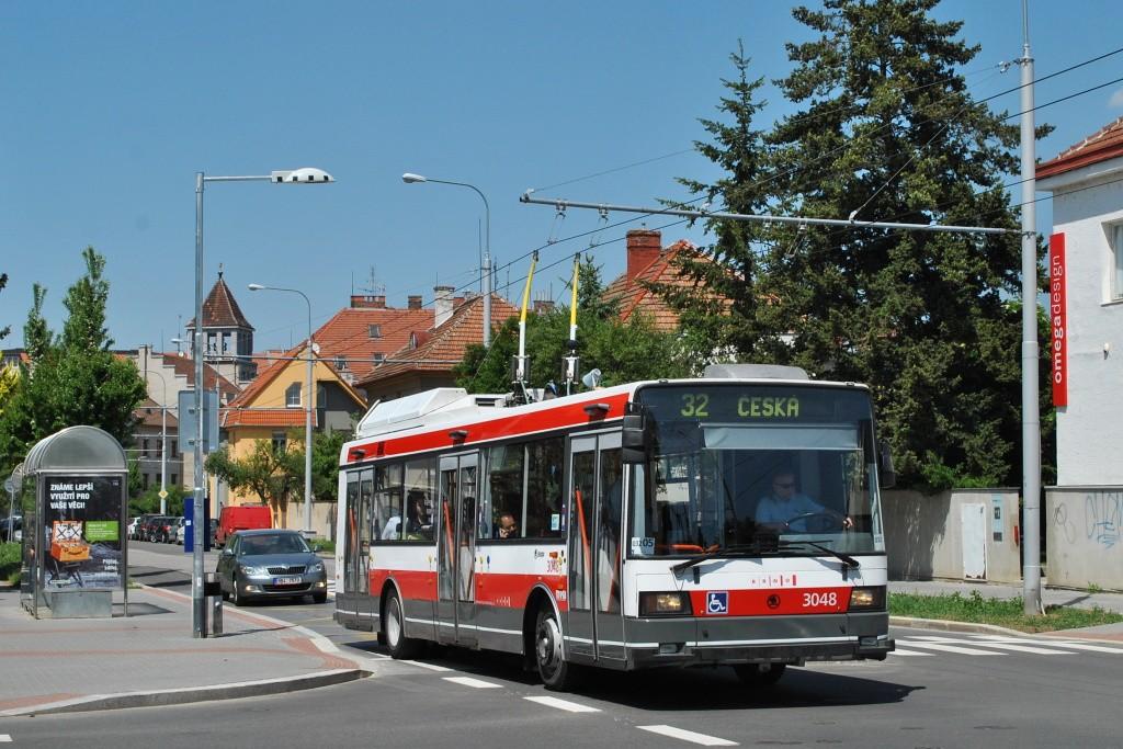Fotogalerie » Škoda 21Tr 3048 | Brno | Královo Pole | Chodská | Charvátská