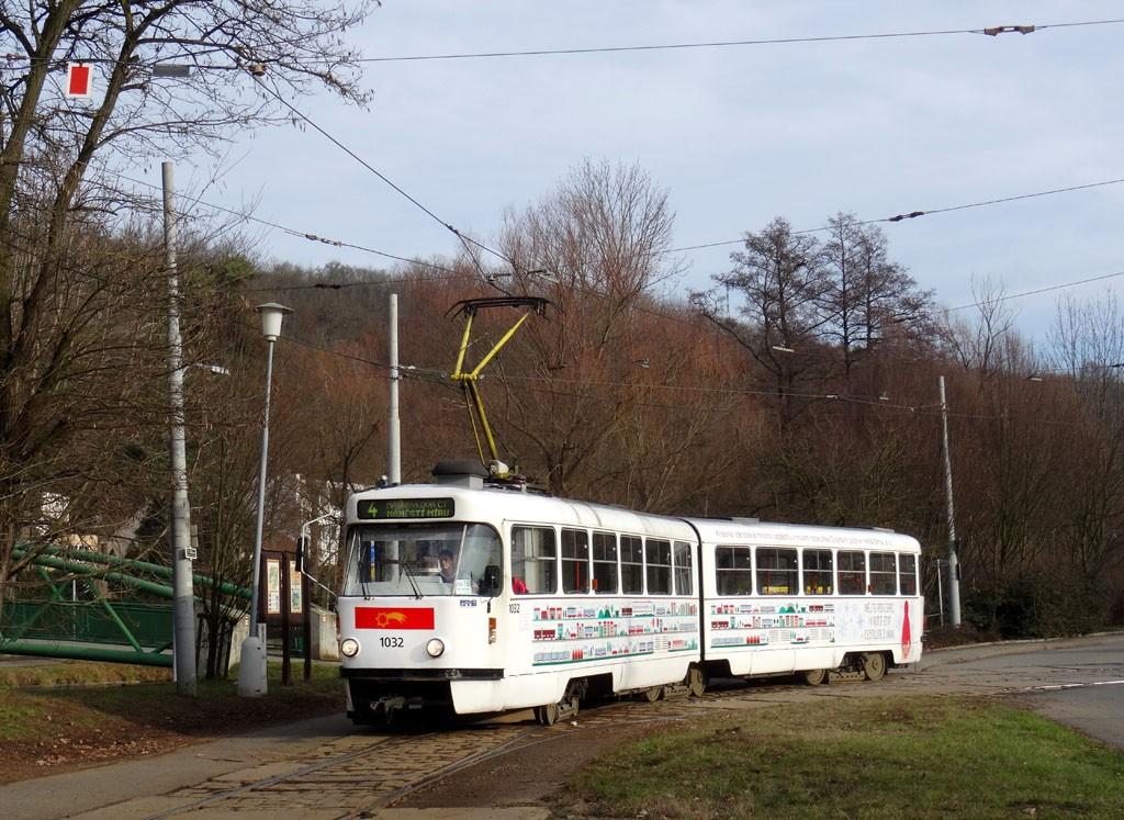 Fotogalerie » ČKD Tatra K2P 1032 | Brno | Maloměřice | Obřanská