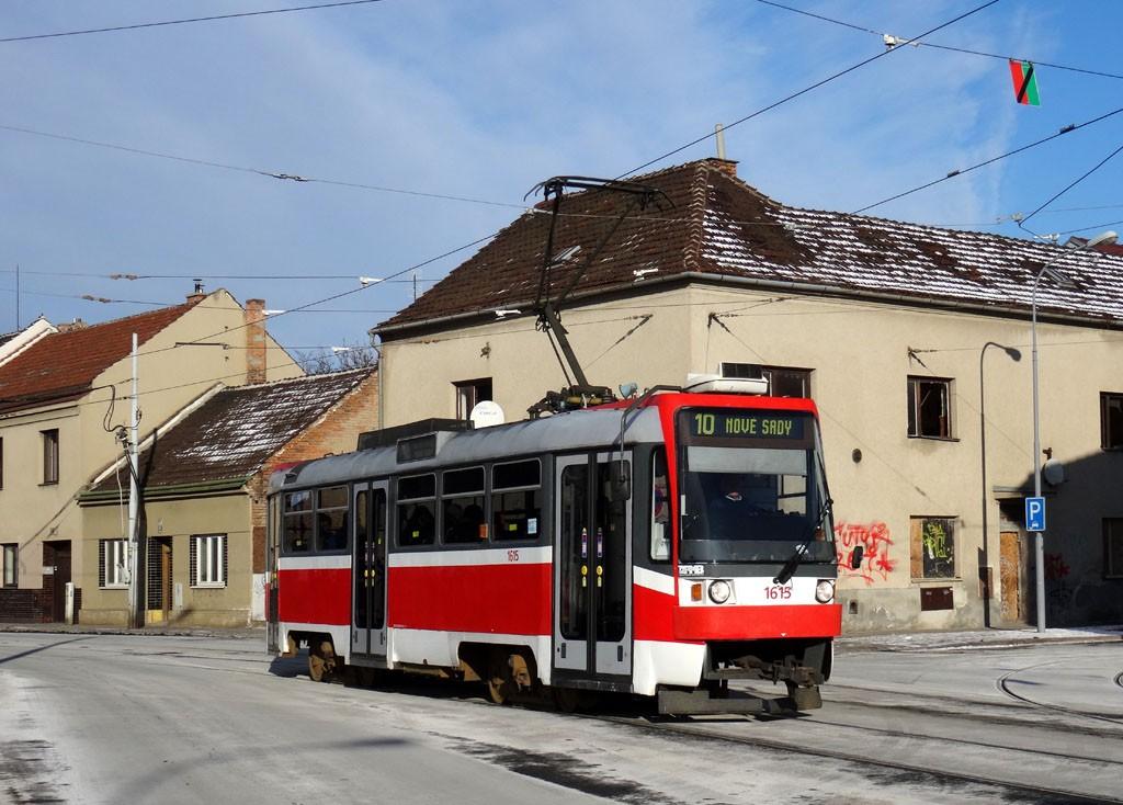 Fotogalerie » ČKD Tatra T3R 1615 | Brno | Židenice | Životského