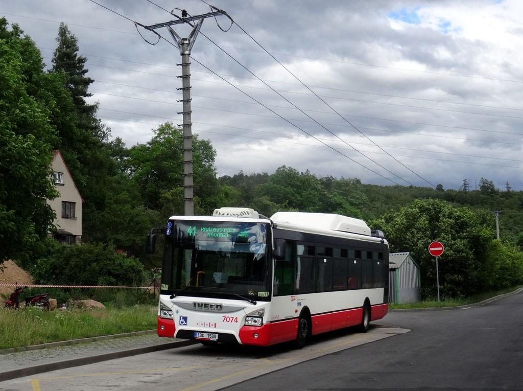 Fotogalerie » Iveco Urbanway 12M CNG 1BC 1580 7074 | Brno | Ivanovice | Maříkova | Ivanovice, Globus