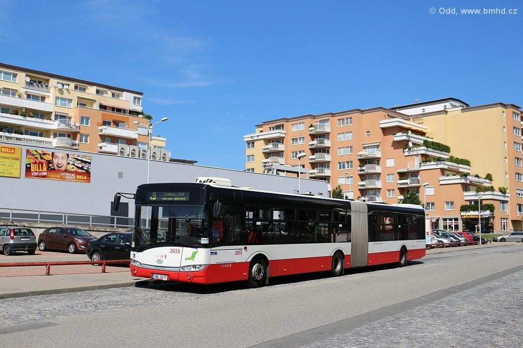 Fotogalerie » Solaris Urbino 18 III 1BA 0417 2655 | Brno | Lesná | Okružní | Haškova