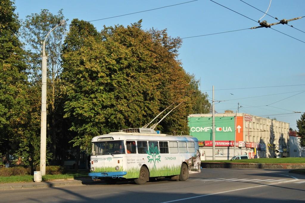 Fotogalerie » Škoda 9TrHT28 135 | Rovno | Kurchatova