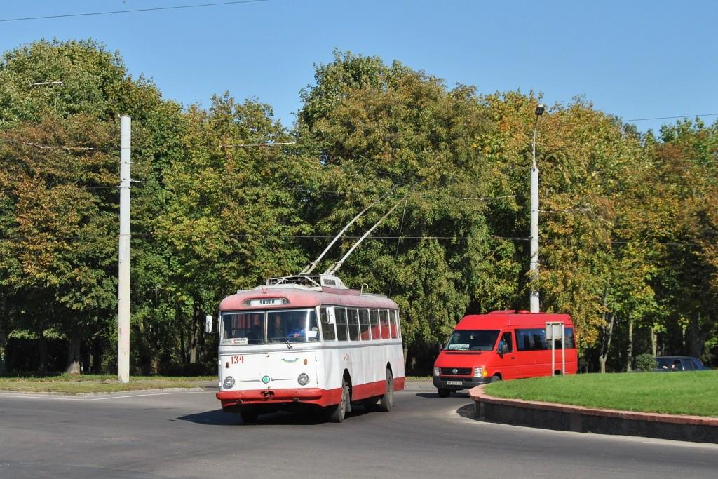 Fotogalerie » Škoda 9TrHT28 134   Rovno   Kurchatova