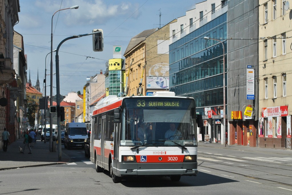 Fotogalerie » Škoda 21Tr 3020 | Brno | střed | Křenová