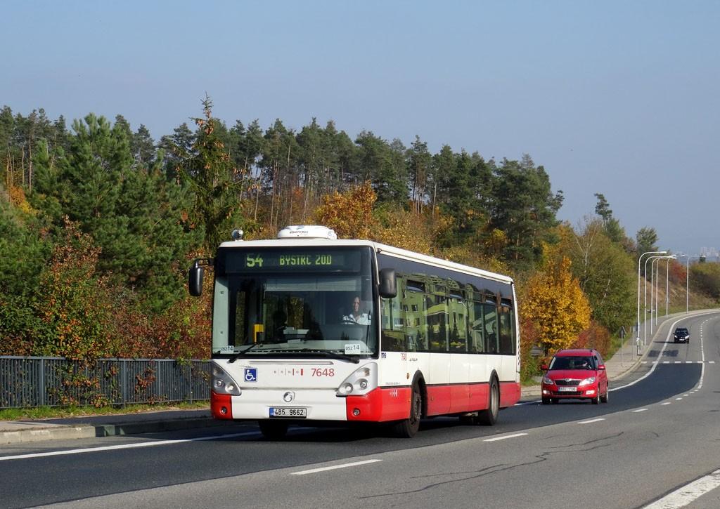 Fotogalerie » Irisbus Citelis 12M 4B5 9662 7648   Brno   Bystrc   Vejrostova