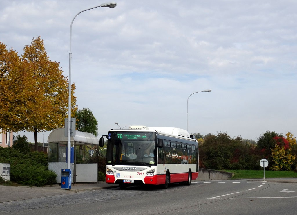 Fotogalerie » Iveco Urbanway 12M CNG 1BC 1573 7067 | Brno | Jehnice | Blanenská | Kleštínek