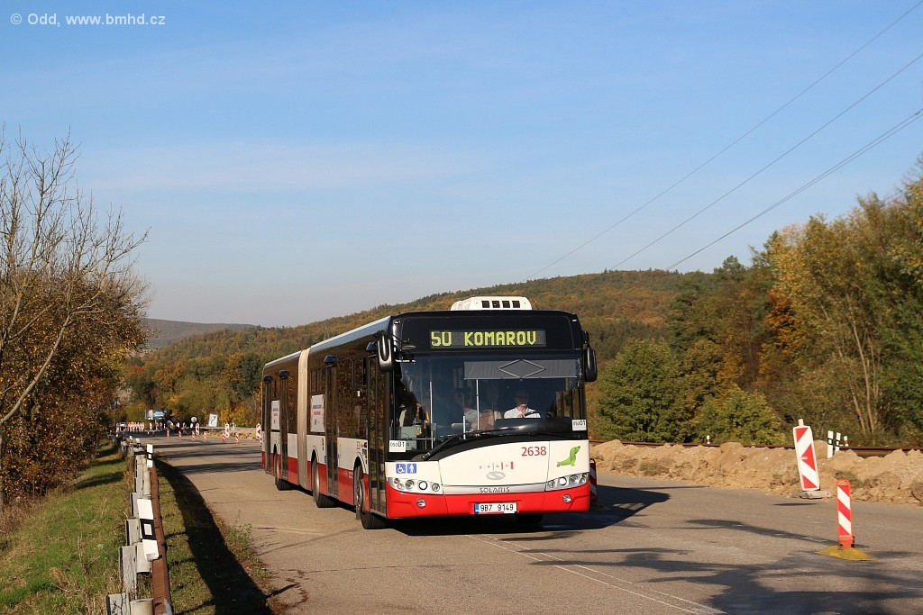 Fotogalerie » Solaris Urbino 18 III 9B7 9149 2638   Brno   Žebětín   Stará Dálnice
