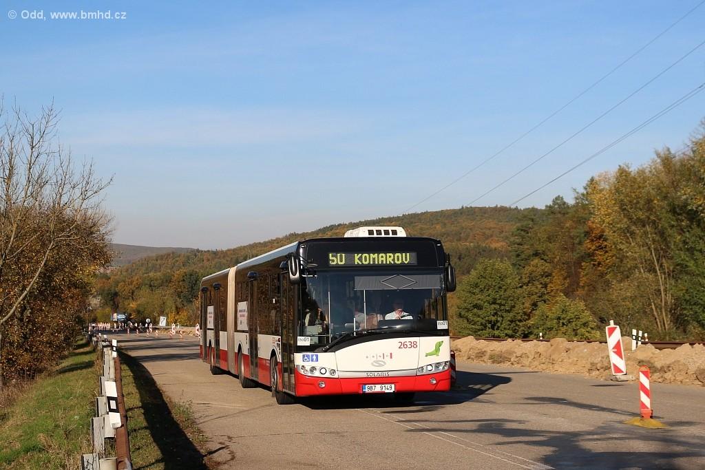 Fotogalerie » Solaris Urbino 18 III 9B7 9149 2638 | Brno | Žebětín | Stará Dálnice
