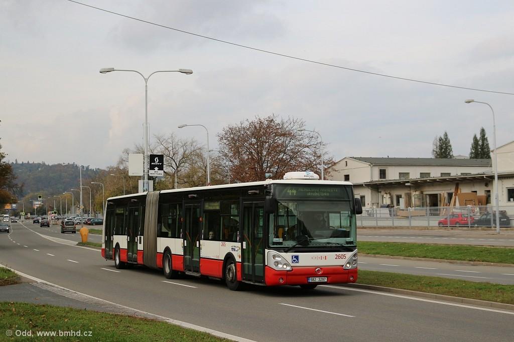 Fotogalerie » Irisbus Citelis 18M 5B2 3297 2605 | Brno | Pisárky | Bauerova