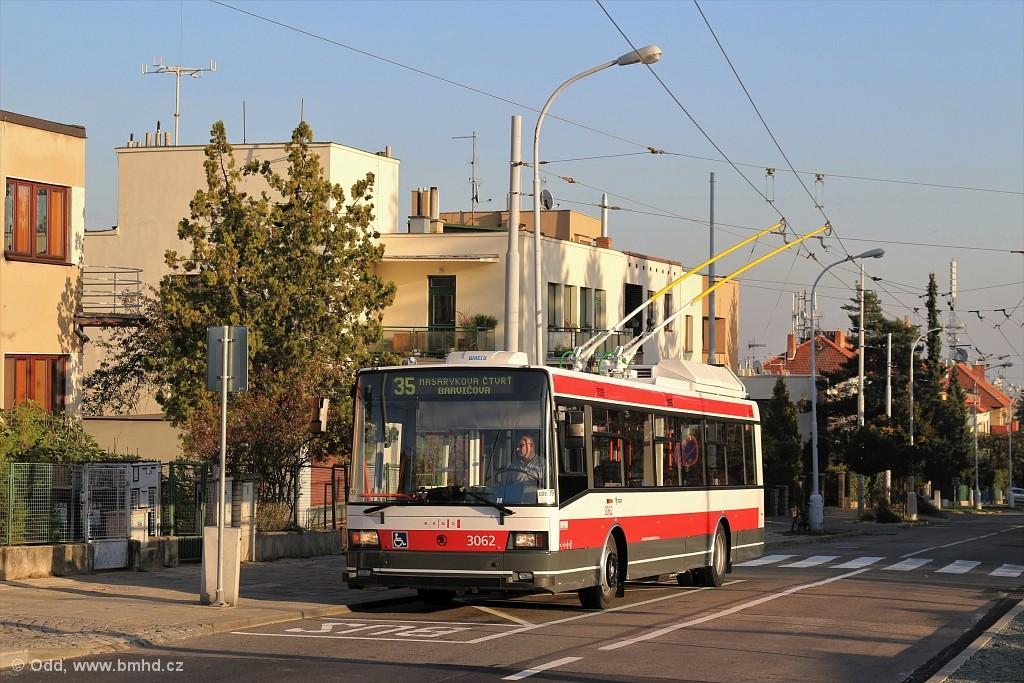 Fotogalerie » Škoda 21TrIGCT 3062 | Brno | Masarykova čtvrť | Barvičova | Barvičova