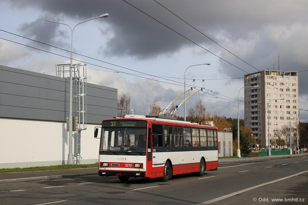 Fotogalerie » Škoda 14Tr17/6M 3270 | Brno | Kohoutovice | Libušina třída