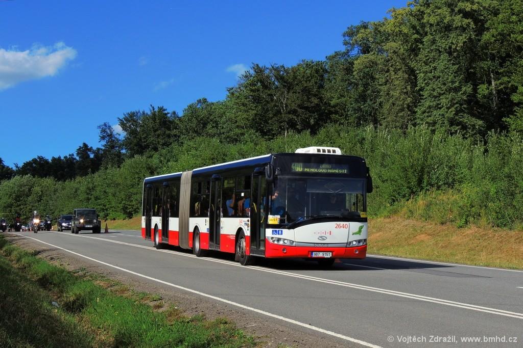 Fotogalerie » Solaris Urbino 18 III 9B7 9151 2640 | Ostrovačice