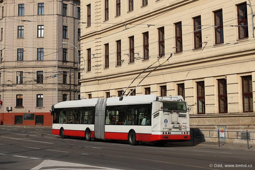 Fotogalerie » Škoda 25Tr Citelis 1B 3612 | Brno | Staré Brno | Mendlovo náměstí