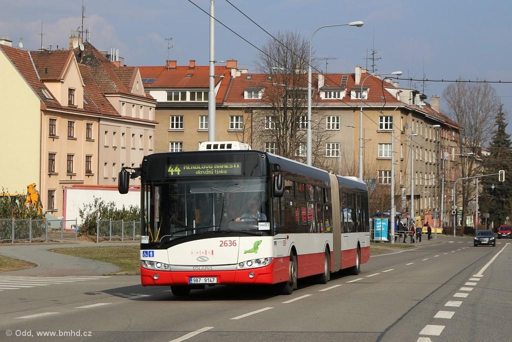 Fotogalerie » Solaris Urbino 18 III 9B7 9147 2636 | Brno | Žabovřesky | Královopolská
