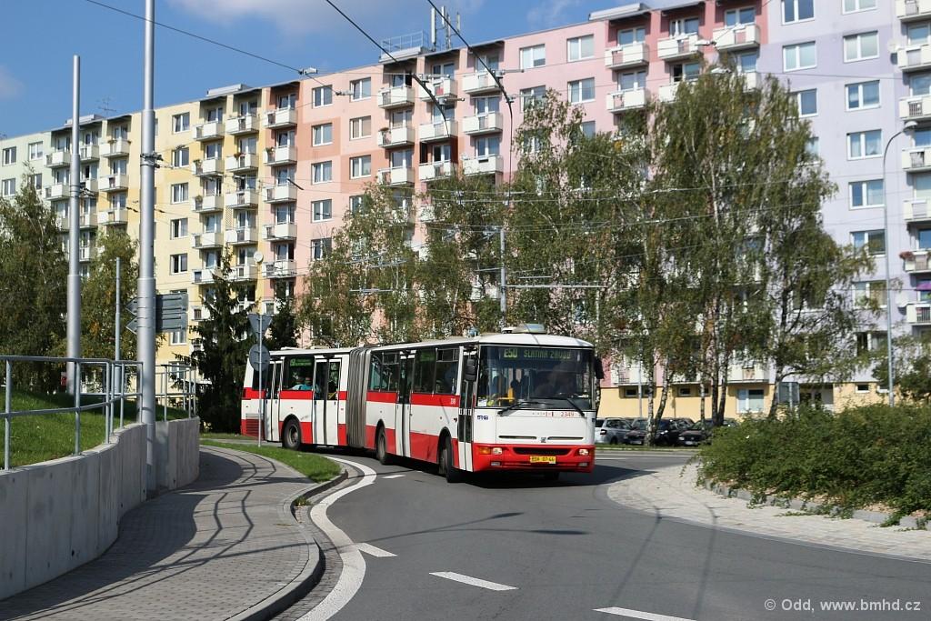 Fotogalerie » Karosa B941E.1962 BSE 91-84 2349 | Brno | Kohoutovice | Žebětínská