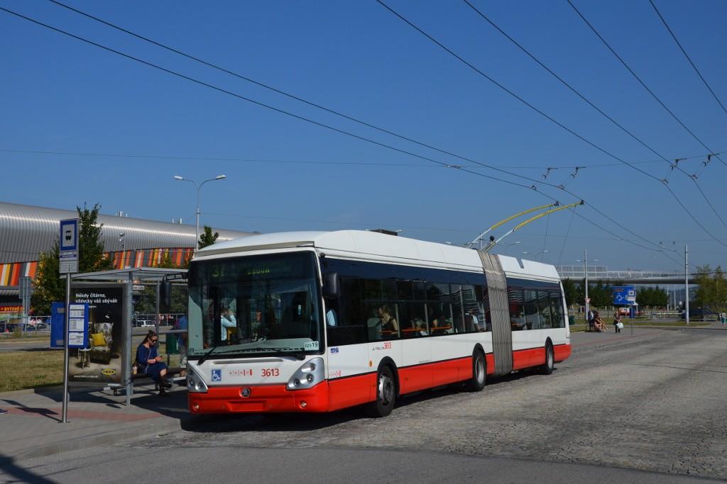 Fotogalerie » Škoda 25Tr Citelis 1B 3613 | Brno | Bohunice | Netroufalky | Nemocnice Bohunice