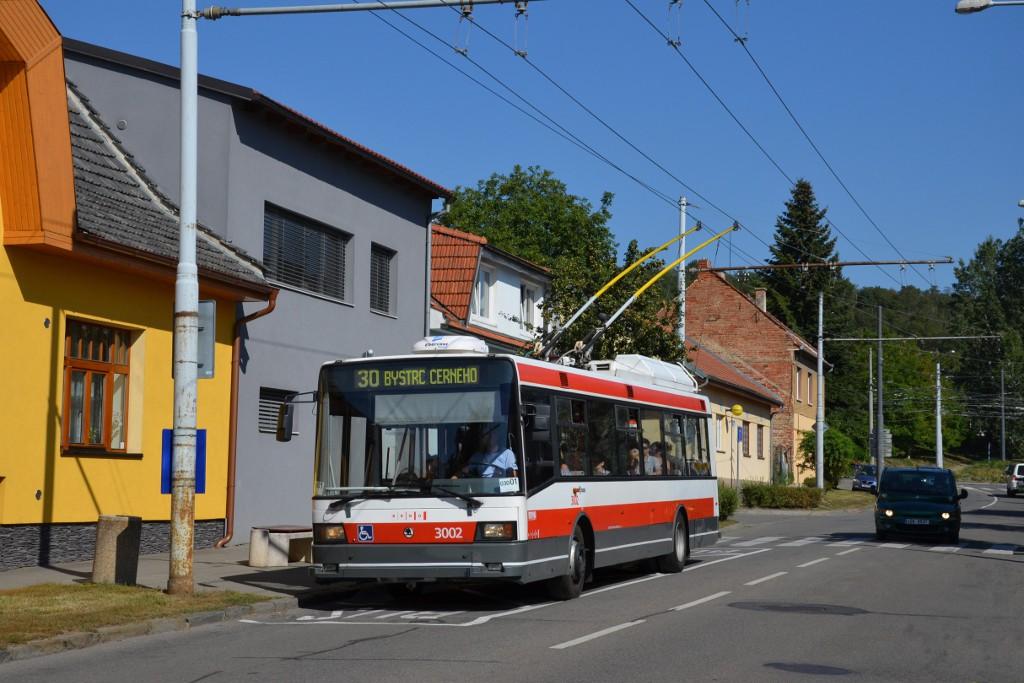 Fotogalerie » Škoda 21Tr 3002 | Brno | Komín | Hlavní | Podveská