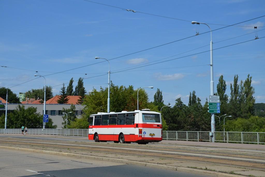 Fotogalerie » Karosa B931E.1707 BSH 16-32 7470 | Brno | Královo Pole | Palackého třída