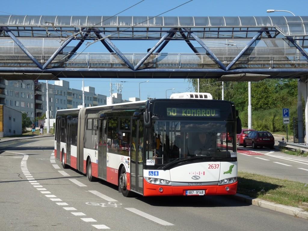 Fotogalerie » Solaris Urbino 18 III 9B7 9148 2637   Brno   Nový Lískovec   Petra Křivky