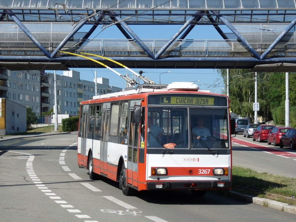 Fotogalerie » Škoda 14TrR 3267 | Brno | Nový Lískovec | Petra Křivky