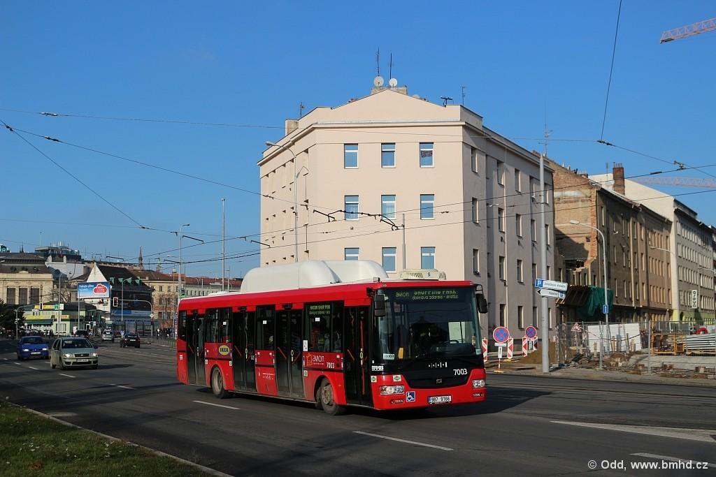 Fotogalerie » SOR NBG 12 9B7 9166 7003 | Brno | Trnitá | Dornych