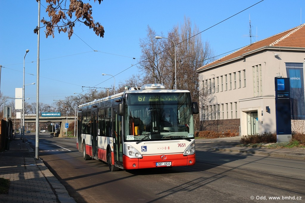 Fotogalerie » Irisbus Citelis 12M 5B7 4533 7651   Brno   Komárov   Svatopetrská