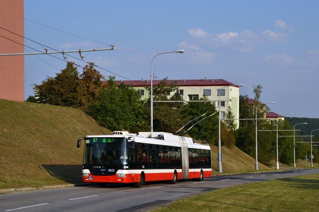 Fotogalerie » Škoda 31Tr 3622 | Brno | Kohoutovice | Libušina třída