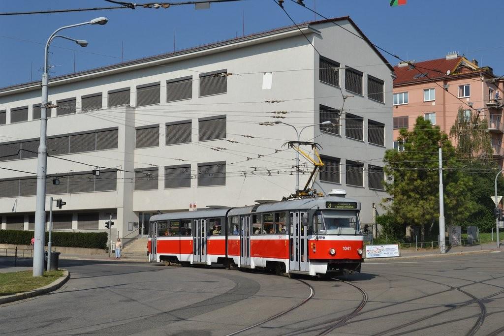 Fotogalerie » ČKD Tatra K2P 1041 | Brno | Černá Pole | Merhautova