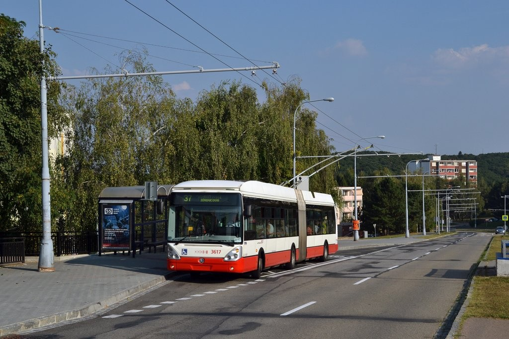 Fotogalerie » Škoda 25Tr Citelis 1B 3617 | Brno | Kohoutovice | Libušina třída | Stamicova
