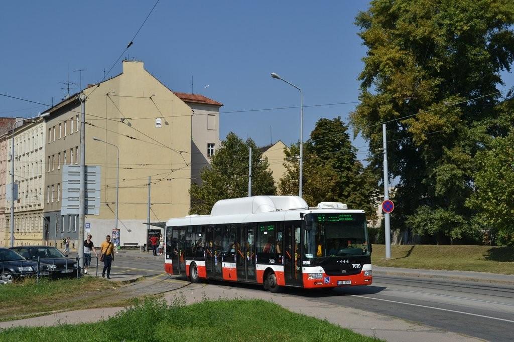 Fotogalerie » SOR NBG 12 1BB 6908 7020 | Brno | Trnitá | Dornych | Zvonařka