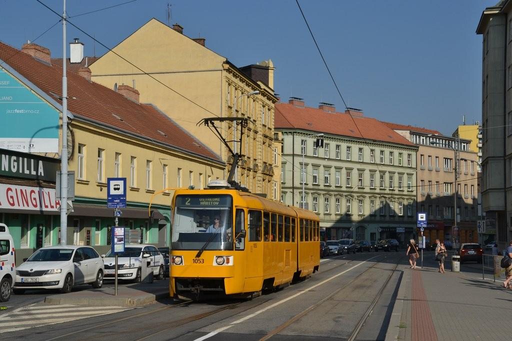 Fotogalerie » ČKD Tatra K2R 1053 | Brno | Staré Brno | Křížová | Poříčí