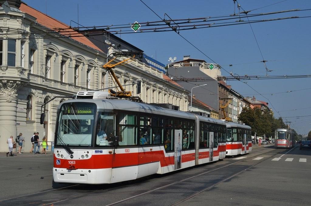 Fotogalerie » Pragoimex VarioLF2R.E 1083 | Pragoimex VarioLFR.E 1573 | Brno | Ponava | Štefánikova