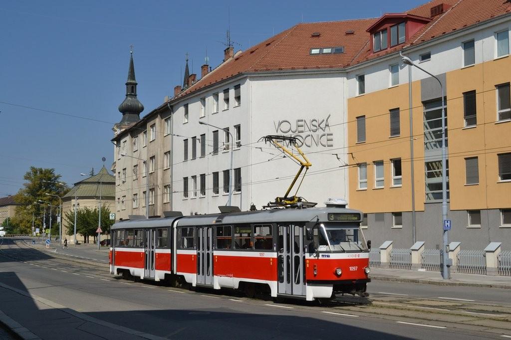 Fotogalerie » ČKD Tatra K2P 1097 | Brno | Zábrdovice | Zábrdovická