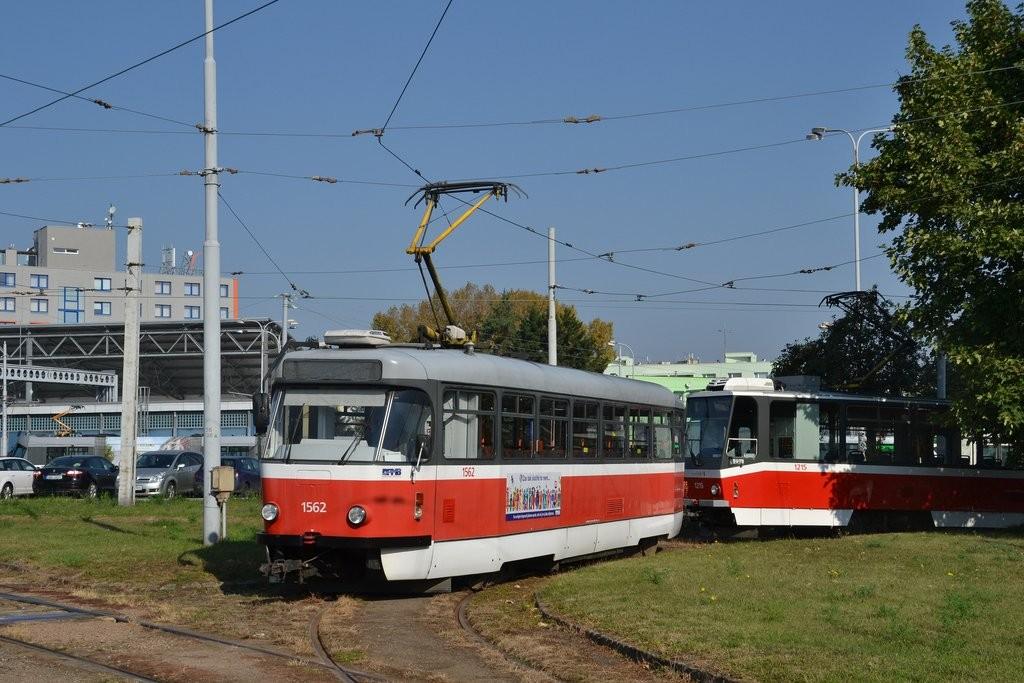 Fotogalerie » Pragoimex T3R.EV 1562 | Brno | vozovna Medlánky