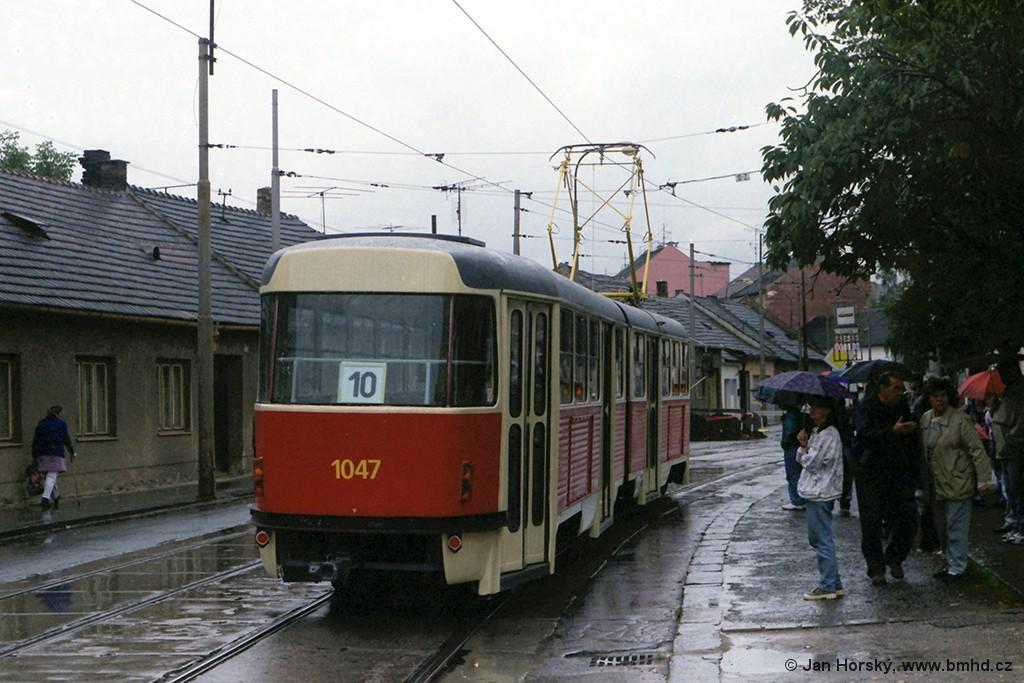 Fotogalerie » ČKD Tatra K2 1047 | Brno | Židenice | Táborská | Geislerova