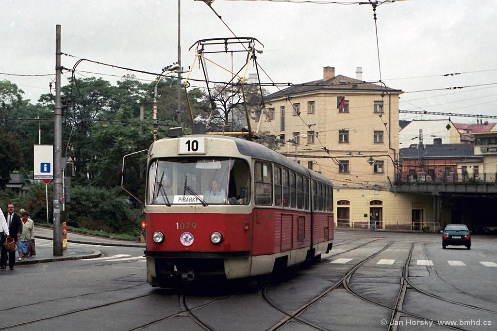 Fotogalerie » ČKD Tatra K2 1079 | Brno | střed | Nádražní