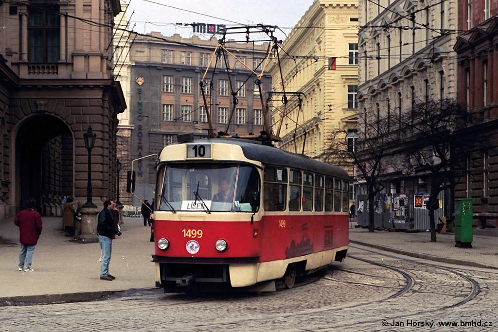 Fotogalerie » ČKD Tatra T3 1499 | Brno | střed | Česká | Česká