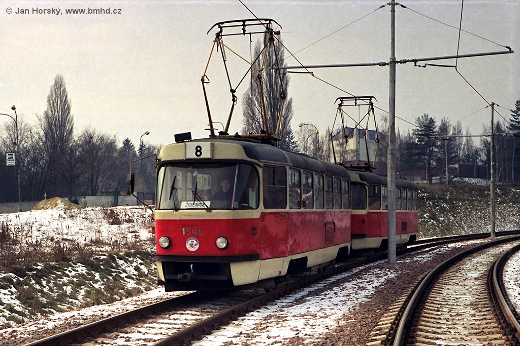 Fotogalerie » ČKD Tatra T3 1546 | Brno | Štýřice